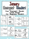 January Emergent Readers - A Book for Each Week- Winter, The Mitten