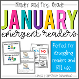 January Emergent Readers & Literacy Packet