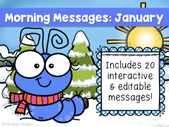 January English Morning Messages