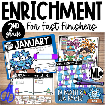 January Enrichment/Early Finishers*Second Grade*