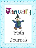 January Everyday Math Journal Printable