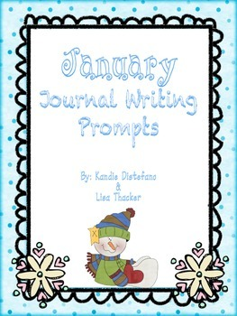 January Everyday Writing Journals Printables