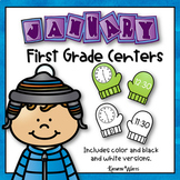 First Grade Centers - January
