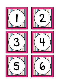 January FREEBIE Calendar Set to Use with Your Classroom Calendar