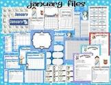 January Teacher Classroom Pack