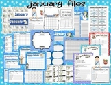 January Teacher Classroom Pack