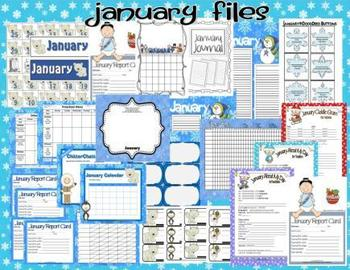 JANUARY PRESCHOOL TEACHER {CLASSROOM FILES}