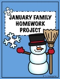 Winter Family Homework Project
