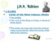 Author Studies: January Famous Author Birthdays PowerPoint