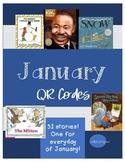 QR Codes January- Favorite Stories