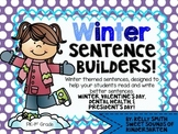 Winter Sentence Builders!