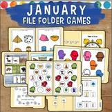 January File Folder Games