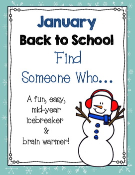 January Find Someone Who