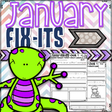 January Fix-It Sentences With Powerpoint