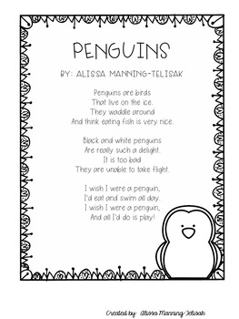 January Fluency Building Poems {Poetry Notebooks}