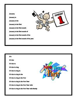 January Fluency Pyramid