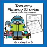 January Fluency Stories (Grades 1-3)
