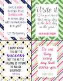 """Fresh Start"" Lunch Notes"