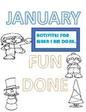 January Fun Done