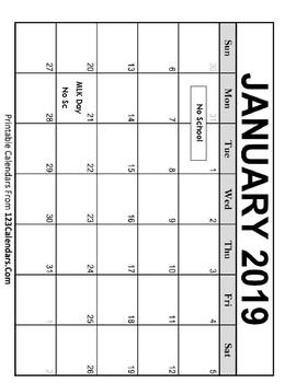 January Fun Packet