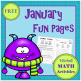 January Fun Pages