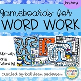 January Game Boards for ANY Word List!