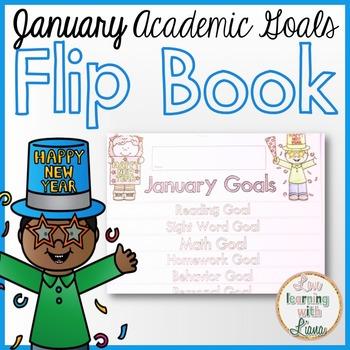 January Goals Flip Book