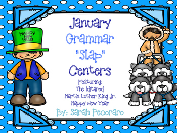 "January Grammar ""SLAP center"