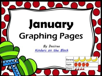January Graphing Pages