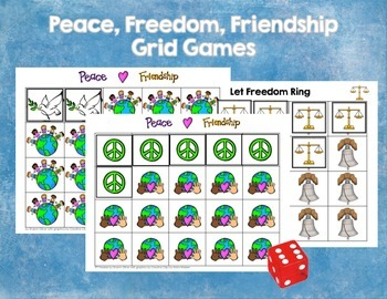 Peace, Freedom, Friendship Grid Games