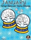 January Group Behavior Boards - Classroom Management
