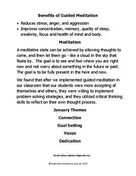 January Guided Meditation Bundle