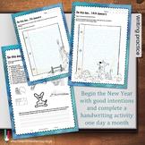January Handwriting Workbook