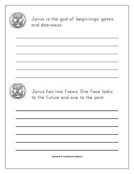 January Holidays, Events, & Season Copywork Print/Cursive Handwriting 129 Pages