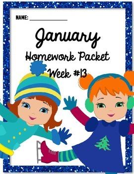 Homework Packet 13