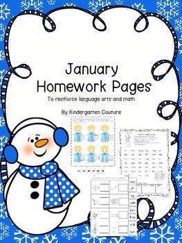 January Homework