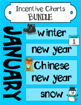 January Incentive Chart BUNDLE