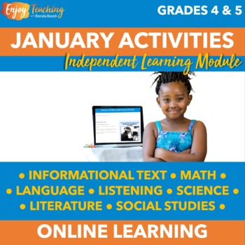 Winter Chromebook Activities - January Independent Learning Module (ILM)