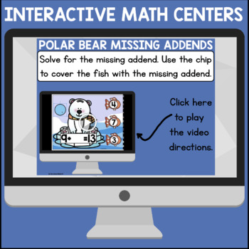January Interactive Math Centers