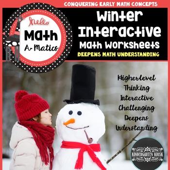January Interactive Math Worksheets