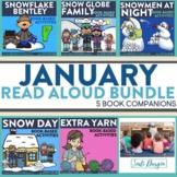 January Interactive Read Aloud Book Companion Bundle