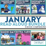 January Interactive Read Aloud Book Companion Bundle