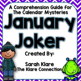 January Joker {A Calendar Mysteries Comprehension Guide}