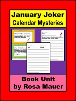 January Joker Calendar Mysteries Book Unit