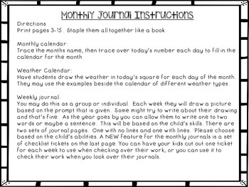 Monthly Journals: January