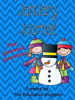 January Journal: 33 pages of Fun!