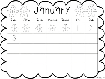 January Journal Covers and Calendars