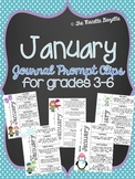 January Journal Prompt Clips