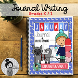 Kindergarten / Grade 1 Writing Prompts (January)
