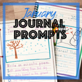 January Journal Prompts for Daily Writing - Handwriting Without Tears Practice
